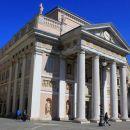 Poslopje nekdanje Tržaške borze na Trgu borze, danes je to sedež trgovinske zbornice.