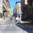 proga tramvaja skozi predmestja...