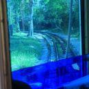 proti Opčinam mora tramvaj premagati precej višinske razlike...