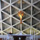 notranjsot svetišča: oltar...