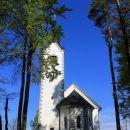 cerkev sv. magdalene na vrhu istoimenskega hriba