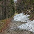 cesta naprej od biba planine je še neprevozna