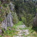 stara napoleonova cesta v dolino