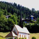 cerkev sv. katarine, zgrajena nad izvirom termalne vode