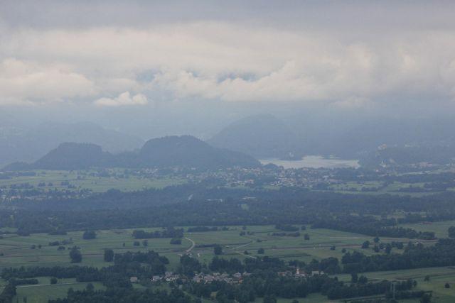 Pogled na blejsko jezero