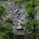 pečine nad vhodom v planinsko jamo