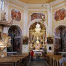 notranjost cerkve sv. valentina
