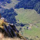 avionski pogled na planino konjščico