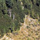 viharnika in steza na debeli vrh