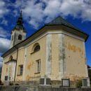 cerkev na kopanju