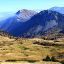 klek, golica ... z grebena med hruškim vrhom in dovško babo