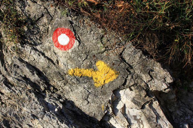 Tu poteka tudi slovenska jakobova pot (slovenski camino)