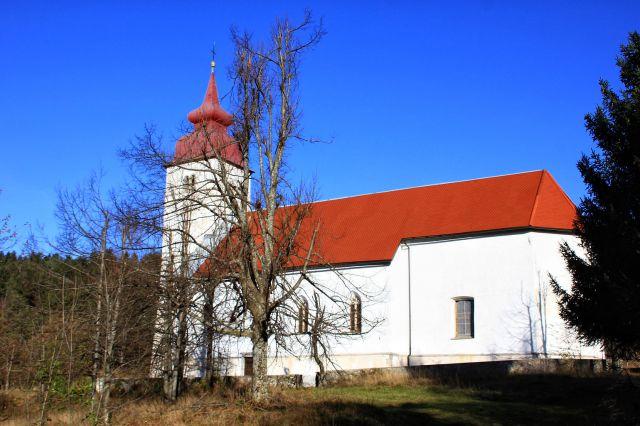 Cerkev svete marije na planinski gori