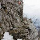 zanimiv prehod na strmi poti