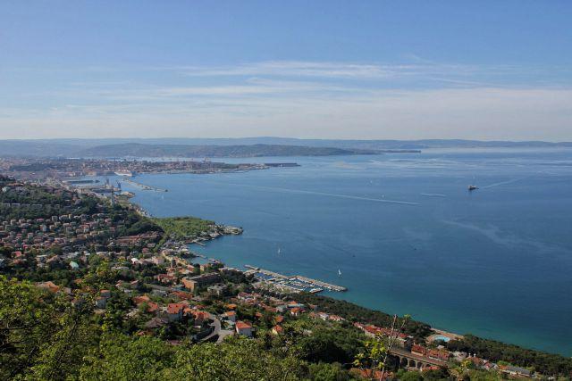 Tržaški zaliv in Trst