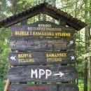 izhodišče na 13. km od planinskega doma v Tuku