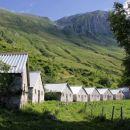 planina Slapnik, nekdanje vojaško naselje