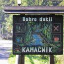 turistične table v Gorskem kotarju so ročno naslikane