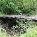 nekdanji most na slovensko stran