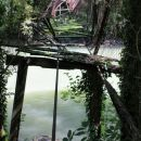 ostanki visečega mostu