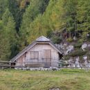 pastirska koča na planini Polšak