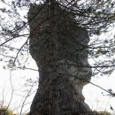 skalni monolit - okamneli mož...