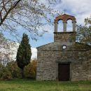sanirana ruševina cerkve sv. ivana in pavla v babičih...