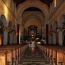 notranjost cerkve na sv. gori