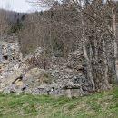 Ruševine kamnite zgradbe, nekdanjega prenočišča Stalak