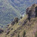 divji skalni svet nad kolpo