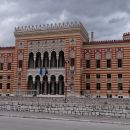 Fascinantna arhitektura poslopja Narodne knjižnice Sarajevo