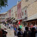 polne ulice turistov