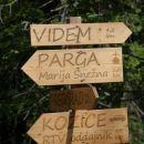 raziskovanje po gozdnih cestah nad pregradom