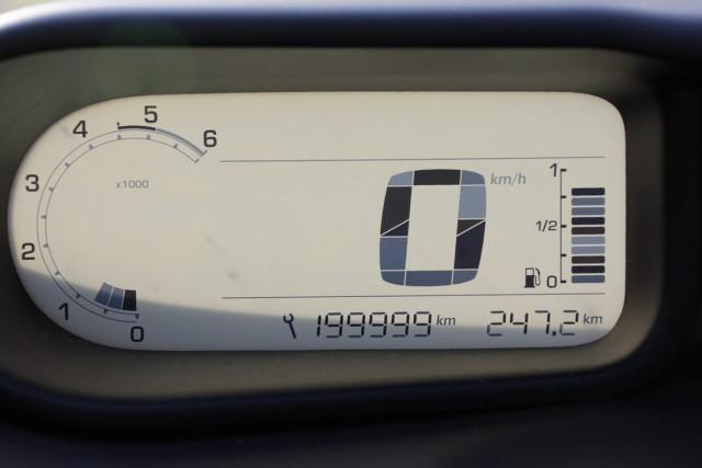 Dosežena številka na vožnji k izhodišču