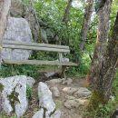 Na vrhu Sodevske stene je poskrbljeno za počitek