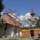 vračanje čez Lič in Fužine: obnova cerkve v liću