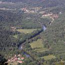 razgled s špičastega vrha na kolpsko dolino...