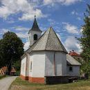 cerkev v vasi Šimatovo...