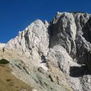 izazita geološka meja - skril : apnenec...geografova deformacija pač :)