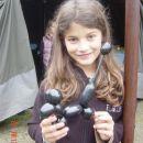 Eva s svojim pudlom ;)